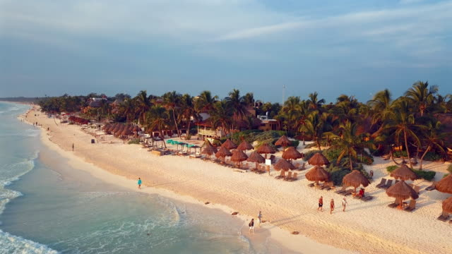 Aerial: The Amenities of the Villages in Tulum