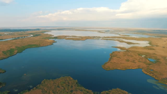 Aerial/ The Danube Delta canals