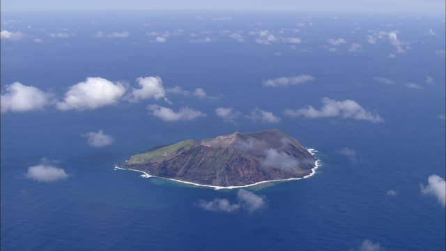 Aerial Torishima Island, Japan