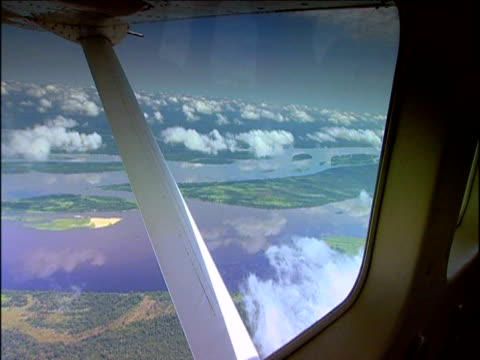 aerial track at cloud line above democratic republic of congo - democratic republic of the congo stock videos & royalty-free footage
