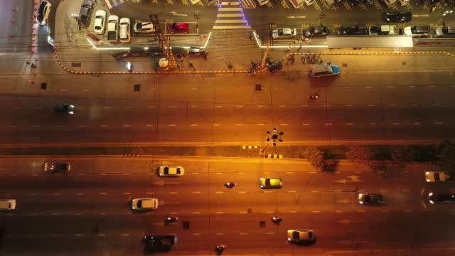 Aerial Traffic at night