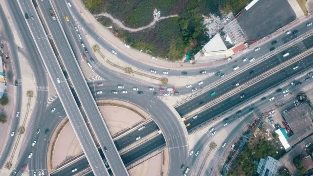 Aerial Traffic circle