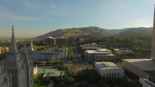 Aerial Utah See Salt Lake City