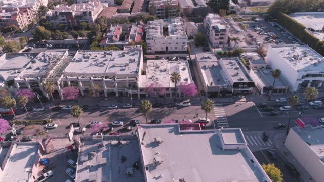 Aerial Ventura Boulevard San Fernando Valley en Californie