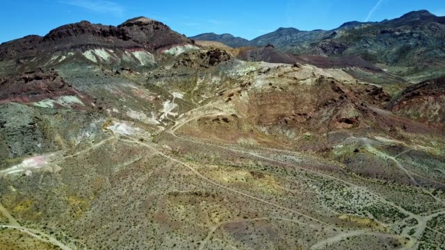 aerial video of grand canyon and death valley in us - alta utah video stock e b–roll