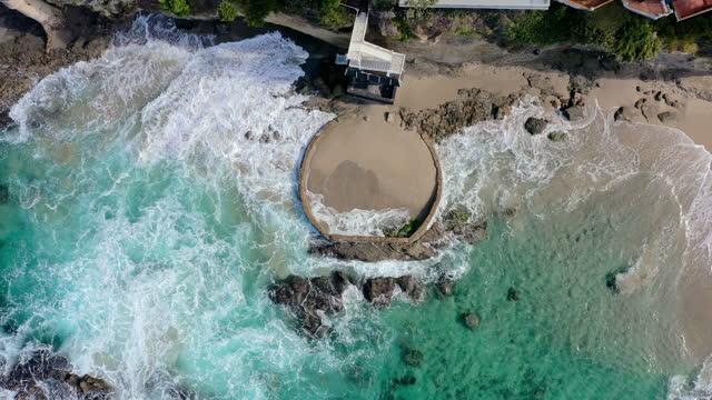 aerial video of laguna beach, usa - drone footage - laguna beach california stock videos & royalty-free footage