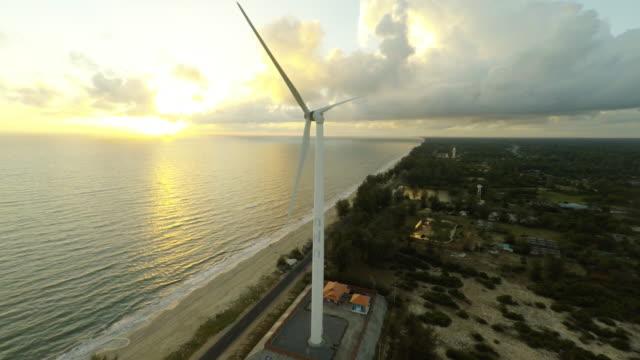 Luchtfoto video van je eigen windturbine