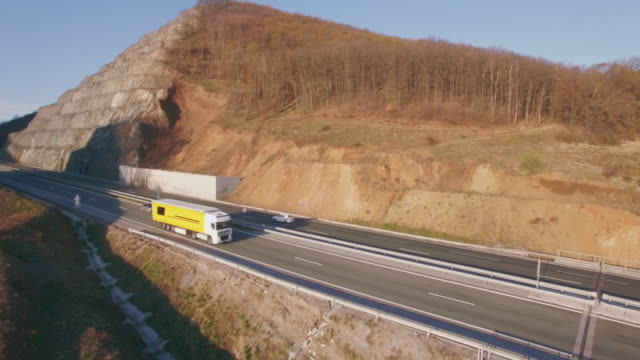 Aerial video with highway