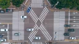 Aerial View a Crosswalks