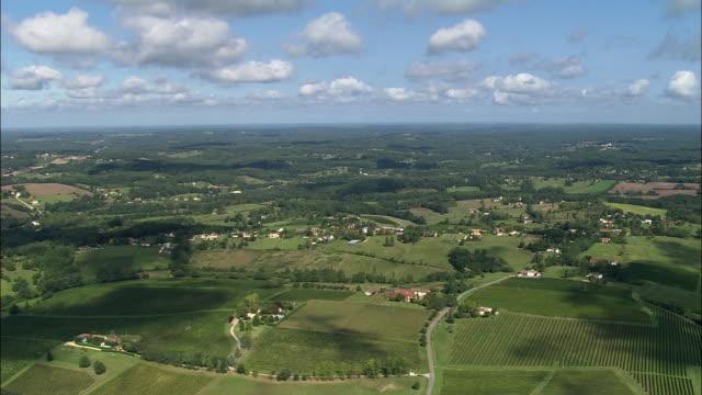 WS PAN Aerial view, Bergerac, Aquitaine, France