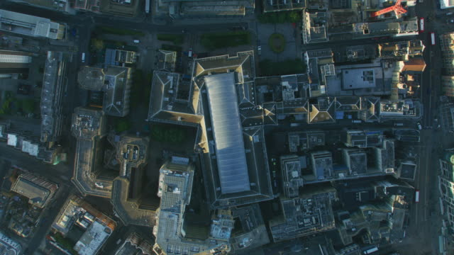 aerial view city of london rooftops at sunrise - twilight stock videos & royalty-free footage