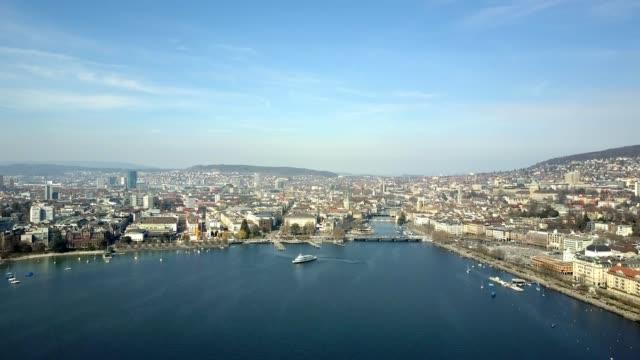 Aerial View City of Zurich