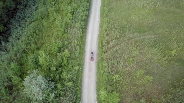 自然の中のサイクリング 4 k 撮 - 散歩道点の映像素材/bロール