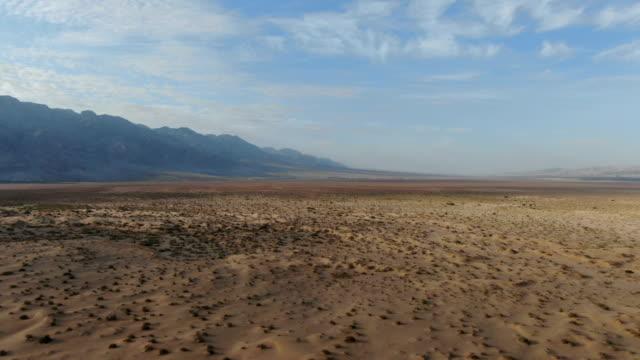 aerial view / extreme desert platoe,  arava valley, israel - negev stock videos & royalty-free footage
