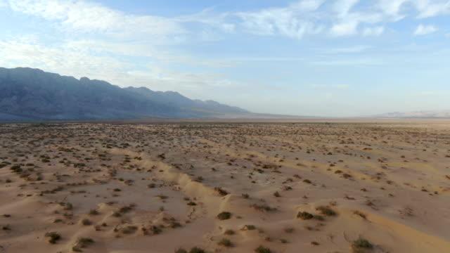 aerial view / extreme desert platoe,  arava valley, israel - アラバ砂漠点の映像素材/bロール