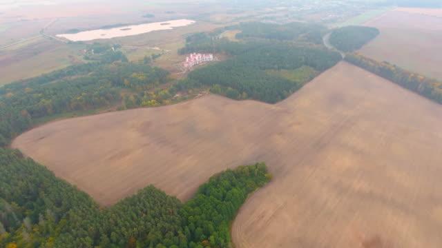 Luftaufnahme. Flug über Baranovichi Burg