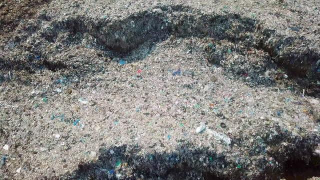 航空写真のゴミ - 大気汚染点の映像素材/bロール