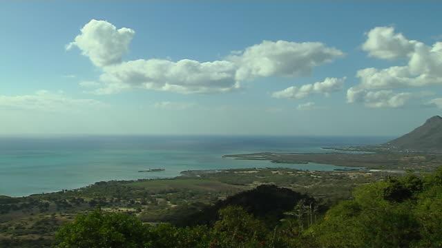 Aerial View Grand Baie Mauritius