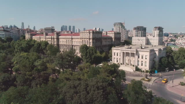 aerial view istanbul technical university. istanbul. turkey. - ankara stock videos and b-roll footage