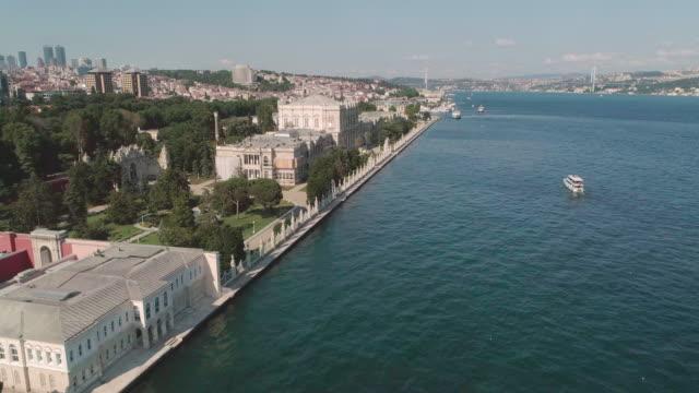 aerial view looking down at istanbul. turkey. - ankara stock-videos und b-roll-filmmaterial