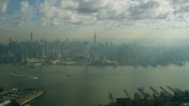 Aerial View Midtown Manhattan