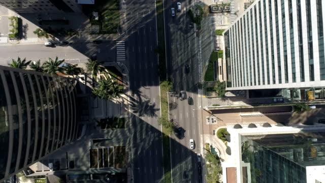 Aerial view of 23 de Maio Avenue in São Paulo