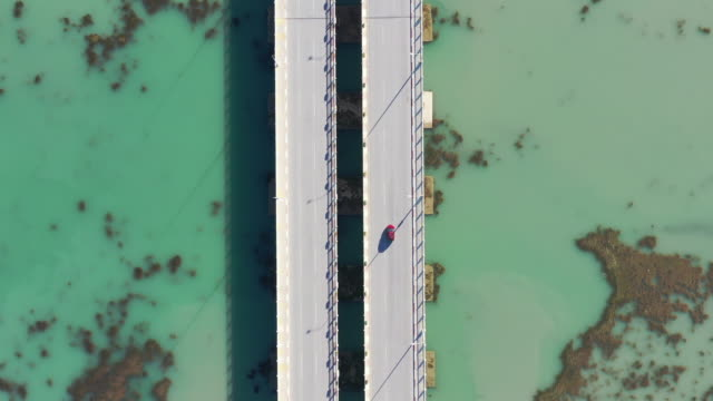 aerial view of a bridge - single object stock videos & royalty-free footage