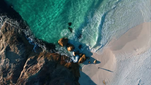 aerial view of albany western australia - 4k drone - multi coloured stock videos & royalty-free footage
