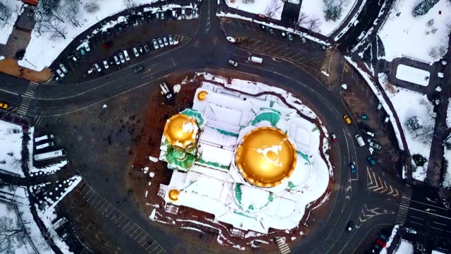 aerial view of alexander nevsky cathedral / sofia - bulgaria - 1931 stock videos & royalty-free footage