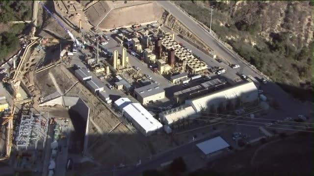 KTLA Aerial View of Aliso Canyon Storage Facility