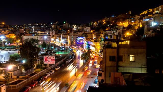 ヨルダンの首都アンマン市の空撮 - ヨルダン点の映像素材/bロール