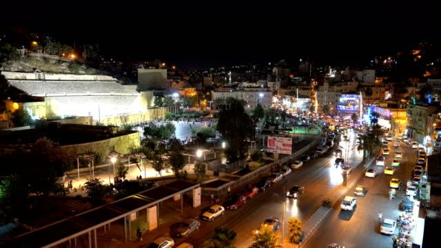 vídeos y material grabado en eventos de stock de vista aérea de la ciudad de amán, la capital de jordania - ciudades capitales