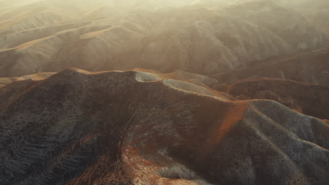 aerial view of arid landscape - remote location stock videos & royalty-free footage