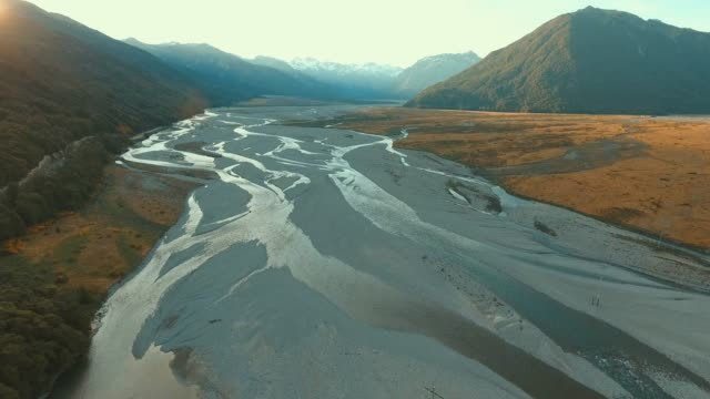 Aerial view of Arthur's pass