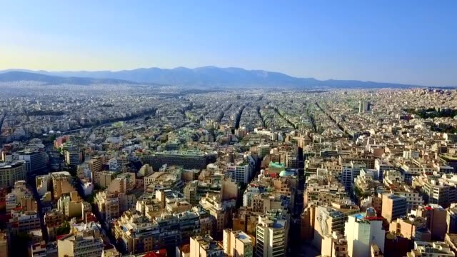 Aerial View of Athens - Greece