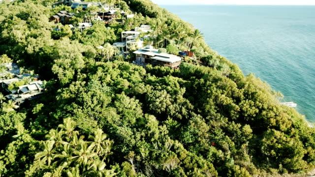 aerial view of australian city. coastline - panoramic stock videos & royalty-free footage