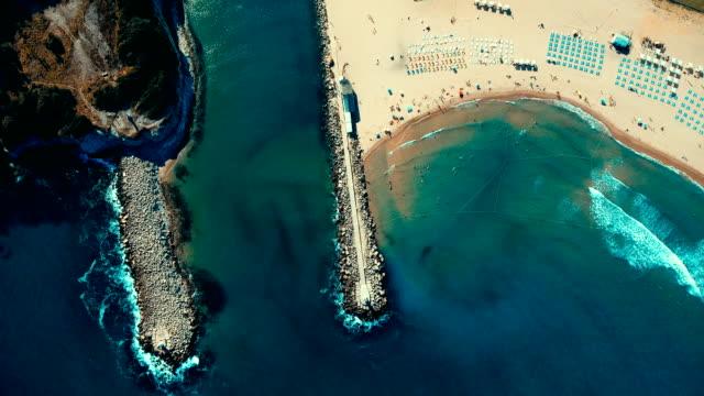 vidéos et rushes de vue aérienne de ağva - marécage