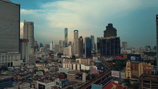 Luftaufnahme von Bangkok, Thailand