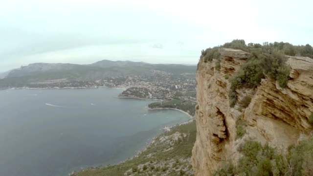 Aerial view of bay of Cassis