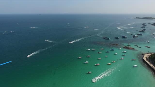 Luftaufnahme der Strand in Thailand