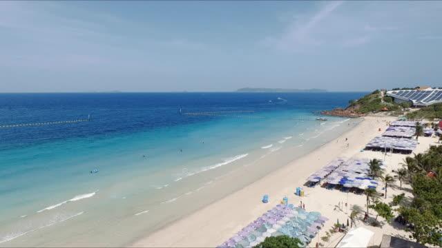 タイのビーチの空撮 - プーケット県点の映像素材/bロール