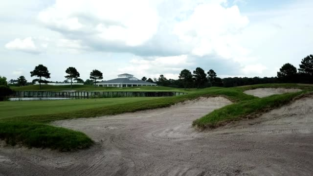 Aerial view of Beaufort Golf Club in North Carolina