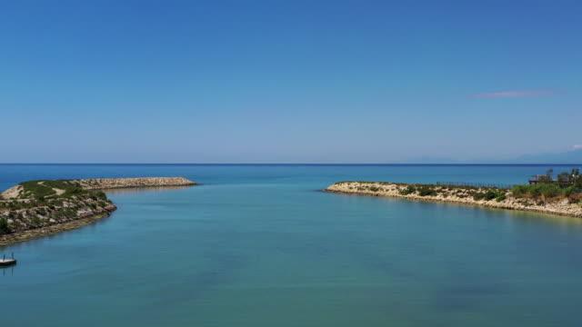 美しい海の空中写真 - 地中海点の映像素材/bロール