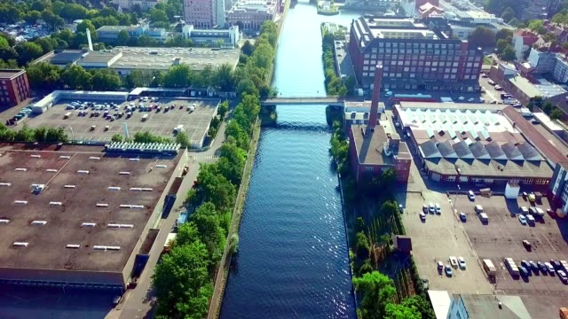 aerial view of berlin - germany - berlin stock videos & royalty-free footage