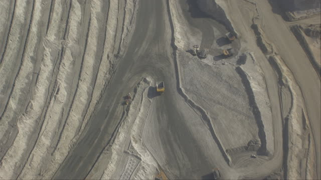 Aerial view of Bingham Canyon Mine