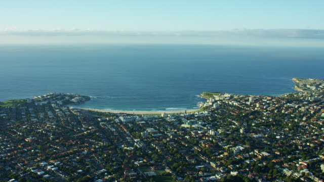 Aerial view of Bondi Beach Sydney Australia