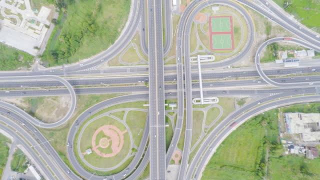 Luftaufnahme der Brücke, Thailand