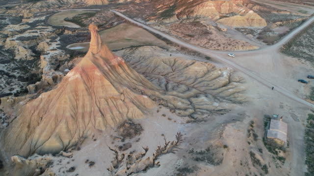 aerial view of castildetierra - comunidad foral de navarra stock videos and b-roll footage