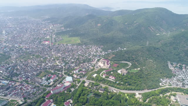 Aerial view of Chinese ancient villages