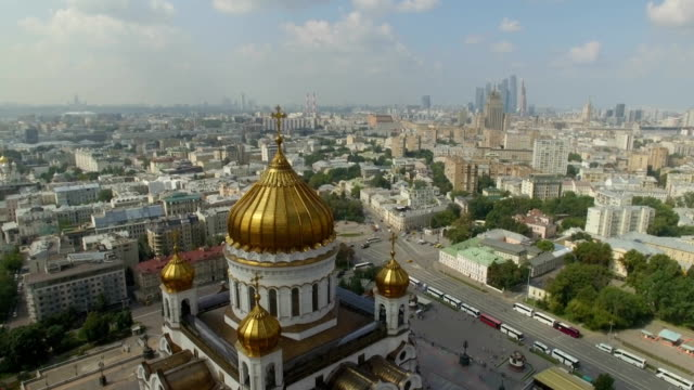 Aerial view of Christ the Saviour Cathedral